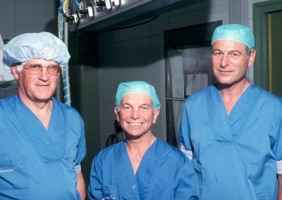 Bezoek dr. Donald Nuss aan AMC